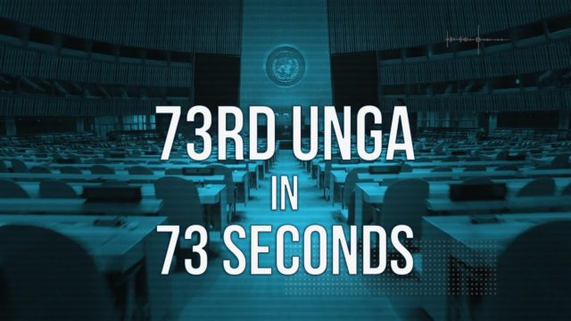 73rd UN General Assembly in 73 sec – wrap of the week