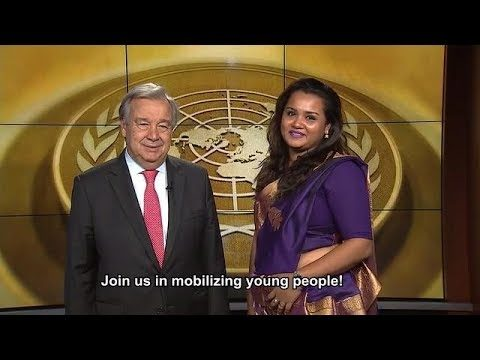 2017 International Youth Day – UN Secretary-General and UN Youth Envoy