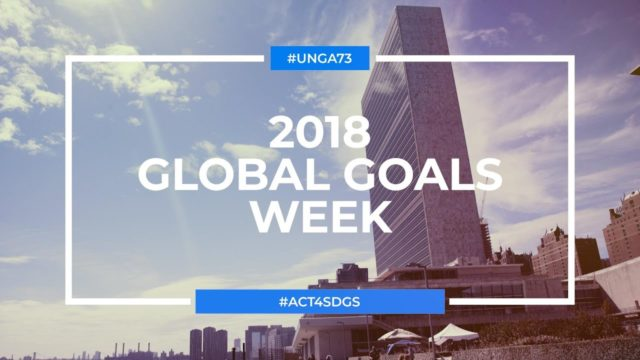 Accelerating Action for the Sustainable Development Goals