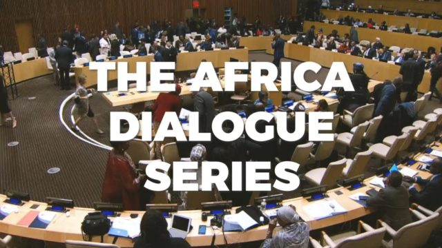 Africa Dialogue Series for a peaceful and prosperous Africa