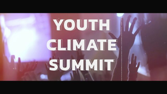 Youth Climate Change Summit – Watch LIVE starting this Saturday!