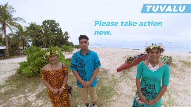 Youth on the Climate Front lines on the Pacific Islands