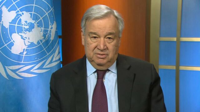 """""""We are in an unprecedented situation & normal rules no longer apply"""" – UN Chief"""