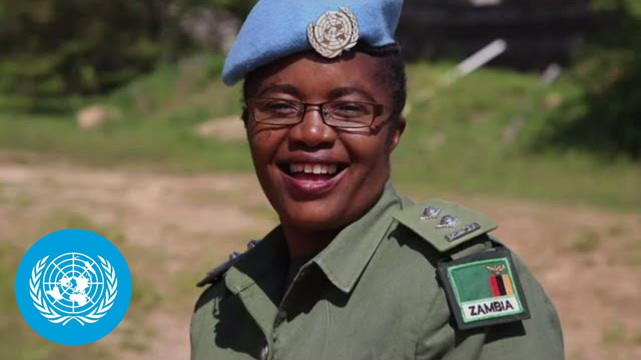 2020 UN Woman Police Officer of the Year awarded to Zambian peacekeeper