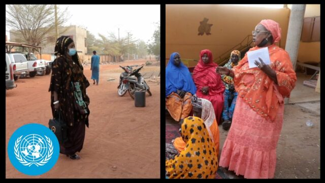 How women defy the conflict in Mali